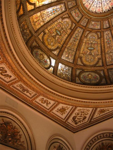 Витражный потолок — фото 9