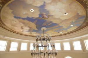 Роспись потолка — фото 187