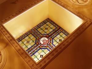 Витражный потолок — фото 8