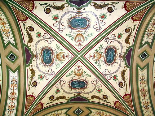 Роспись потолка — фото 38