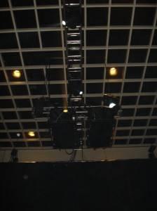 Фото ячеистого потолка из металла