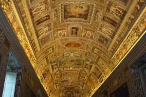 Галерея географических карт в Ватикане (фото 14)