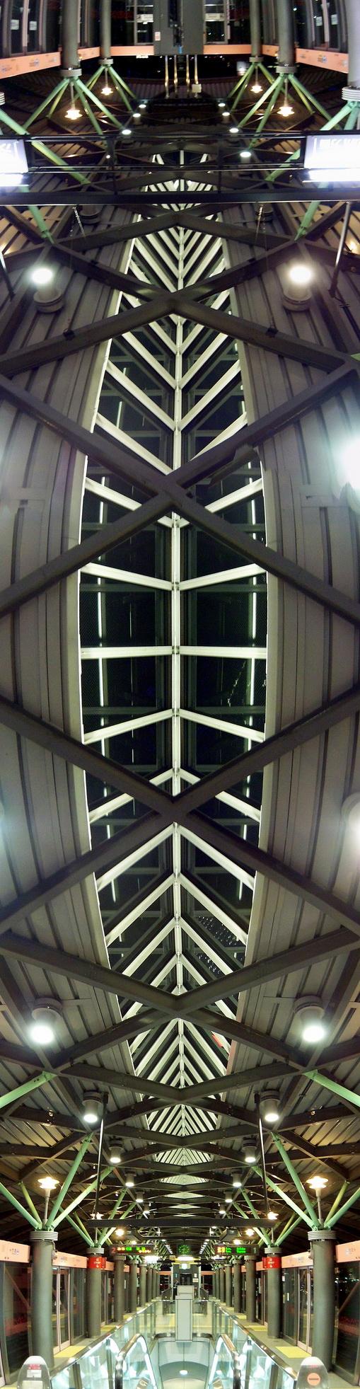 Металлический потолок — фото 52