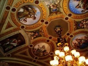 Роспись потолка — фото 39