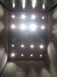Металлический потолок — фото 43