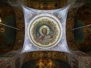 Роспись потолка в Спасе на Крови — фото 88
