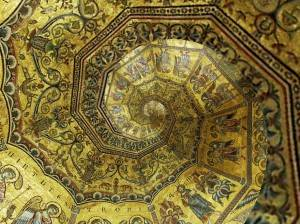 Мозаичный потолок Флорентийского Баптистерия (фото 4)