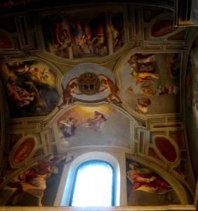 Роспись потолка — фото 102