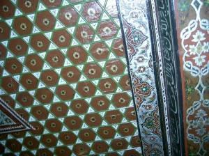 Потолок синагоги Бейт Шалом в Израиле (фото 2)
