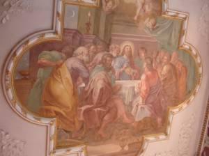 Роспись потолка — фото 254