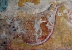 Роспись потолка — фото 73