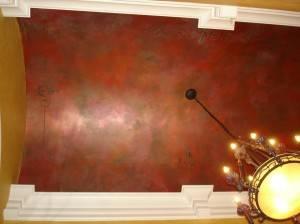 Роспись потолка — фото 371