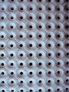 Фото округлых кессонов на потолке
