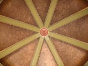 Роспись потолка — фото 89