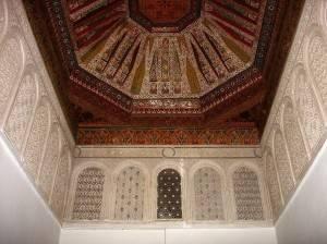 Потолок мечети Кутубия в Марракеше