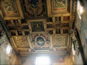 Роспись потолка — фото 124