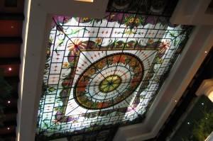 Витражный потолок — фото 54