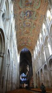 Потолок кафедрального собора Или в Англии