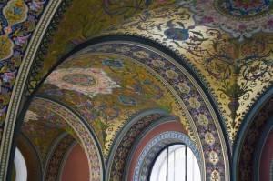 Потолок художественно-промышленной академим имени А. Л. Штиглица
