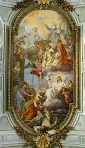Роспись потолка — фото 260