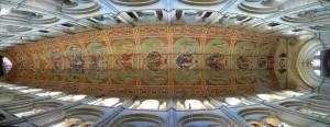 Потолок кафедрального собора Или в Англии (фото 2)