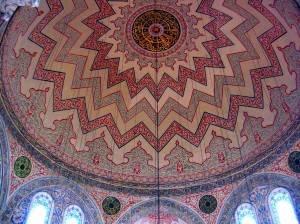Купол мавзолея султан Ахмета I