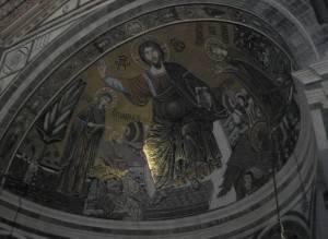 Потолок базилики Сан-Миниато-аль-Монте во Флоренции