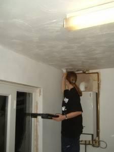 Потолок из декоративных панелей — фото 24