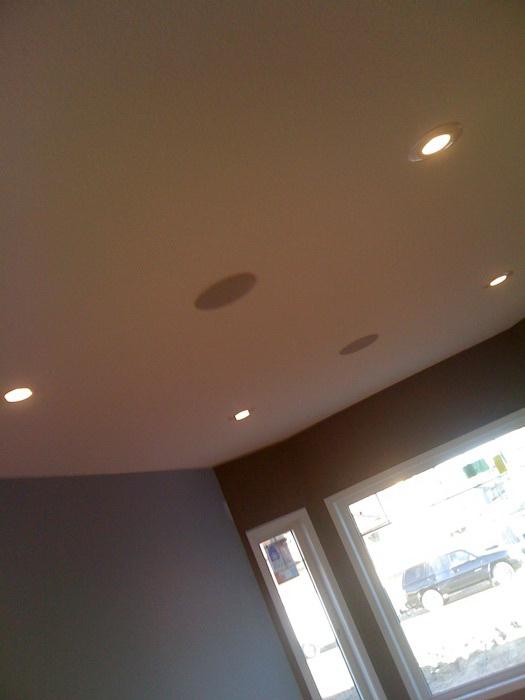 Потолок из гипсокартона — фото 58