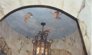Роспись потолка — фото 106