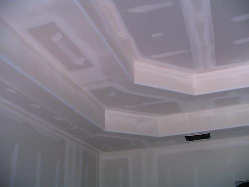 Потолок из гипсокартона — фото 9