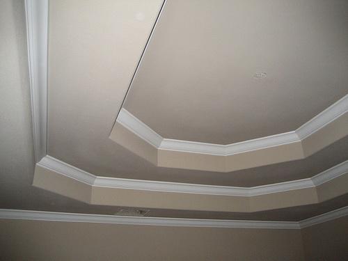 Потолок из гипсокартона — фото 28