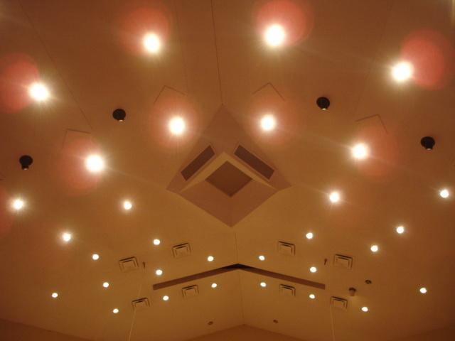 Потолок из гипсокартона — фото 21