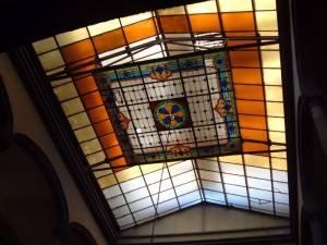 Витражный потолок — фото 37
