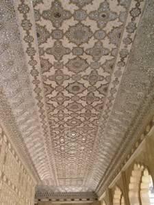 Чертог тысячи зеркал, форт Амбер в Джайпуре (фото 2)