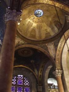 Потолок Церкви Всех Наций в Иерусалиме