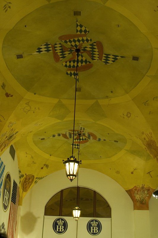 Роспись потолка — фото 41