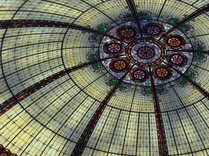 Витражный потолок — фото 48