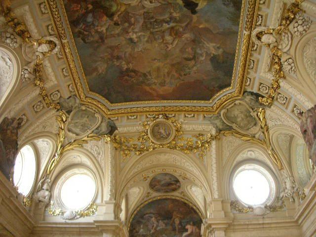 Роспись потолка — фото 276