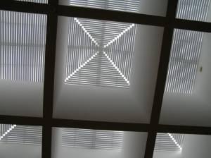 Металлический потолок — фото 36