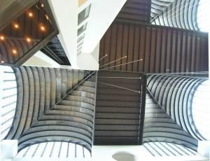 Металлический потолок — фото 31