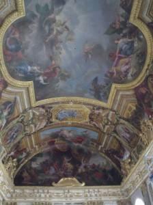 Роспись потолка Версальского дворца — фото 342