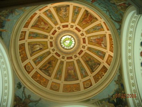 Роспись потолка — фото 43