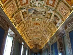 Галерея географических карт в Ватикане (фото 10)