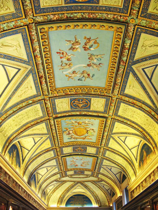 Роспись потолка — фото 13