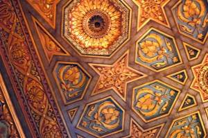 Роспись потолка — фото 44