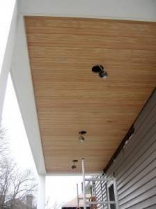 Деревянный потолок — фото 11