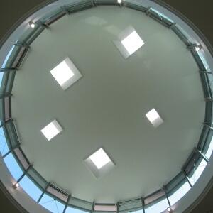 Потолок из гипсокартона — фото 29