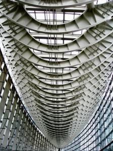 Стеклянная крыша — фото 57