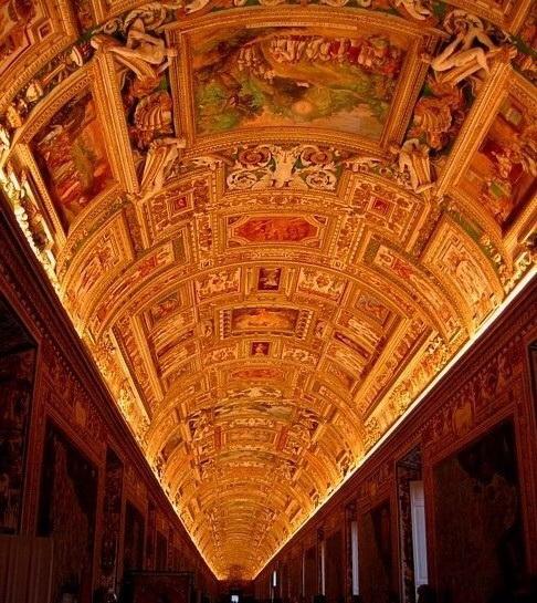 Галерея географических карт в Ватикане (фото 5)